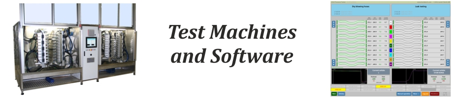 Test Machines and Software